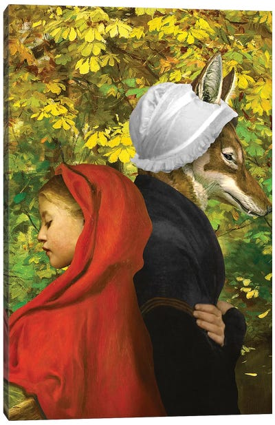 Red Riding Hood Canvas Art Print
