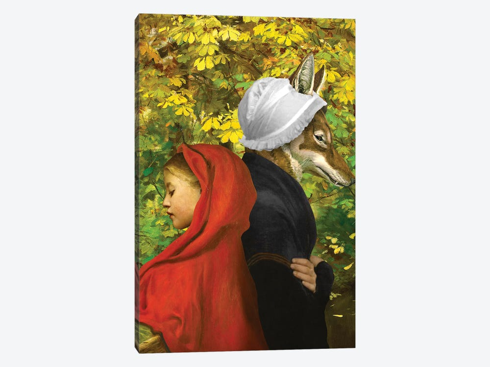 Red Riding Hood by Diogo Verissimo 1-piece Canvas Art Print