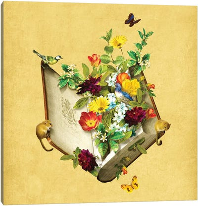 Secret Garden Canvas Art Print