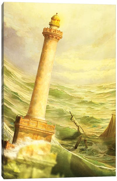 The Fall Of Alexandria Canvas Art Print