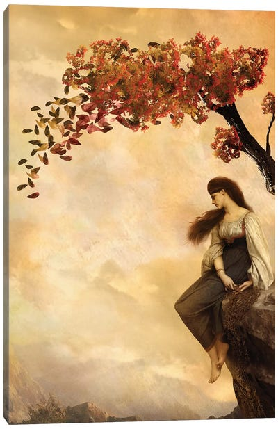 The Fall Of Old Ways Canvas Art Print