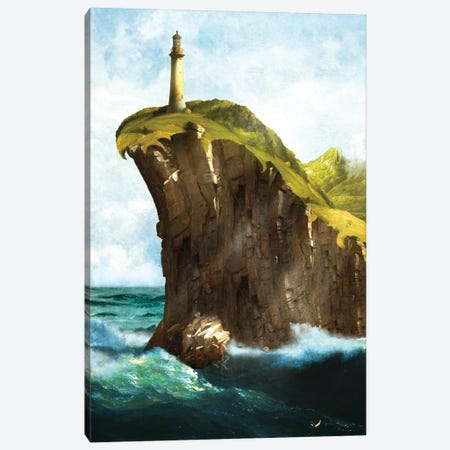 At The End Of The Earth Canvas Print #DVE6} by Diogo Verissimo Canvas Wall Art