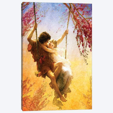 The Spring Of Our Love Canvas Print #DVE72} by Diogo Verissimo Canvas Art