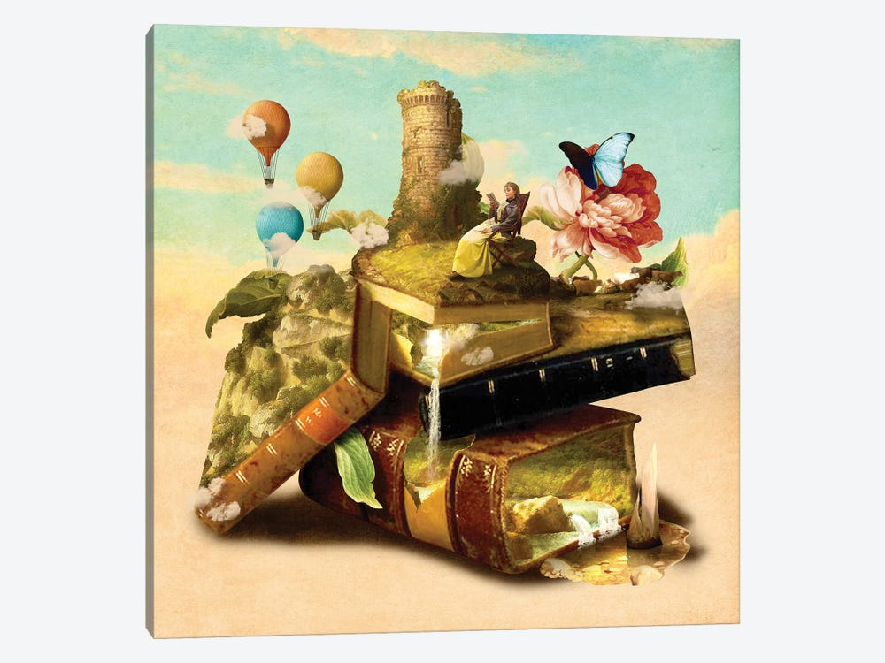 To Lands Away by Diogo Verissimo 1-piece Canvas Print