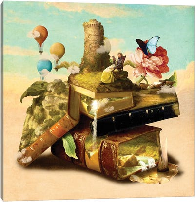 To Lands Away Canvas Art Print