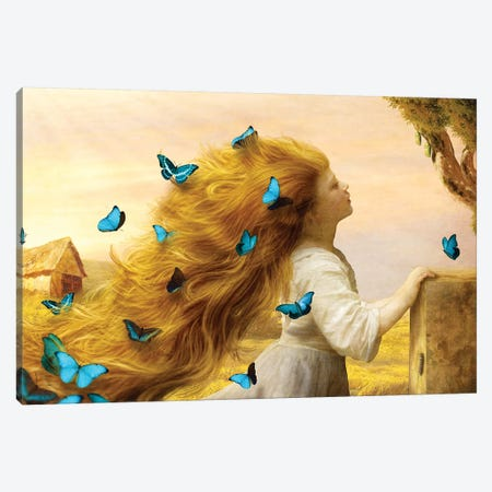 Unfurling Glory Canvas Print #DVE78} by Diogo Verissimo Canvas Artwork