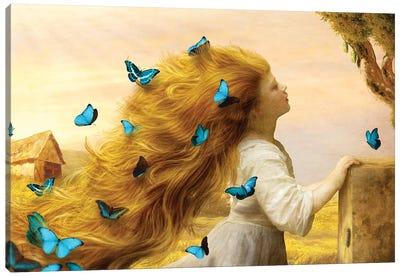 Unfurling Glory Canvas Art Print