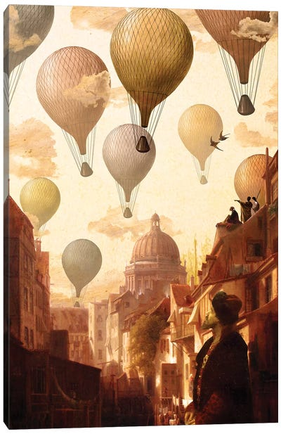 Voyage To The Unknown Canvas Art Print