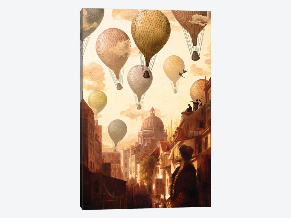 Voyage To The Unknown by Diogo Verissimo 1-piece Canvas Print
