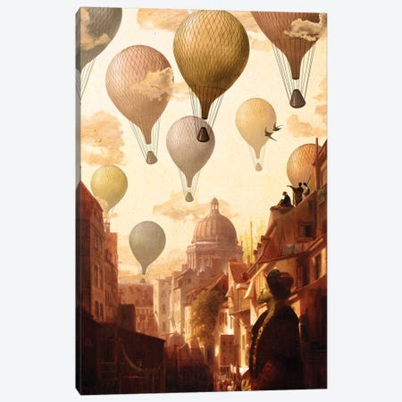 Voyage To The Unknown Canvas Print #DVE79} by Diogo Verissimo Canvas Artwork