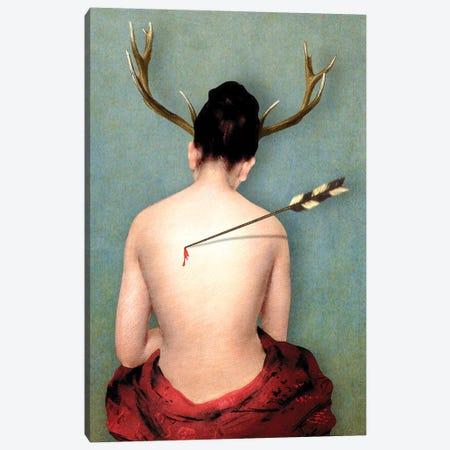 Heartache Canvas Print #DVE88} by Diogo Verissimo Art Print