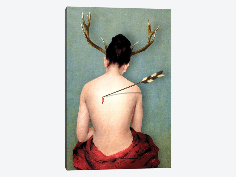 Heartache by Diogo Verissimo 1-piece Canvas Art Print