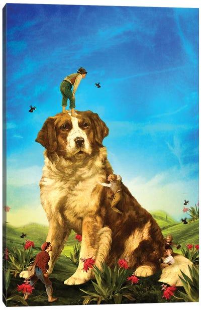 Our Giant Mascot Canvas Art Print