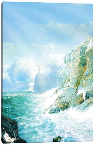 The Ocean Canvas Art Print