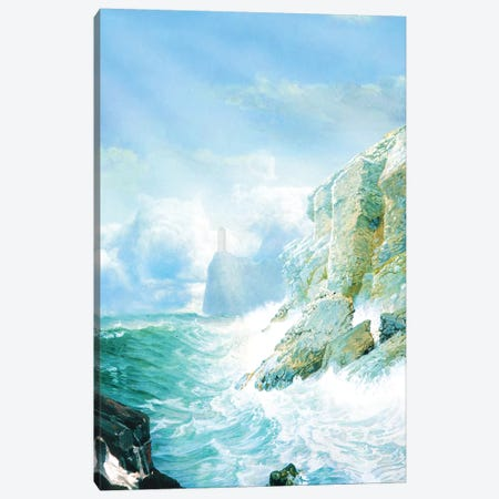 The Ocean Canvas Print #DVE91} by Diogo Verissimo Canvas Art
