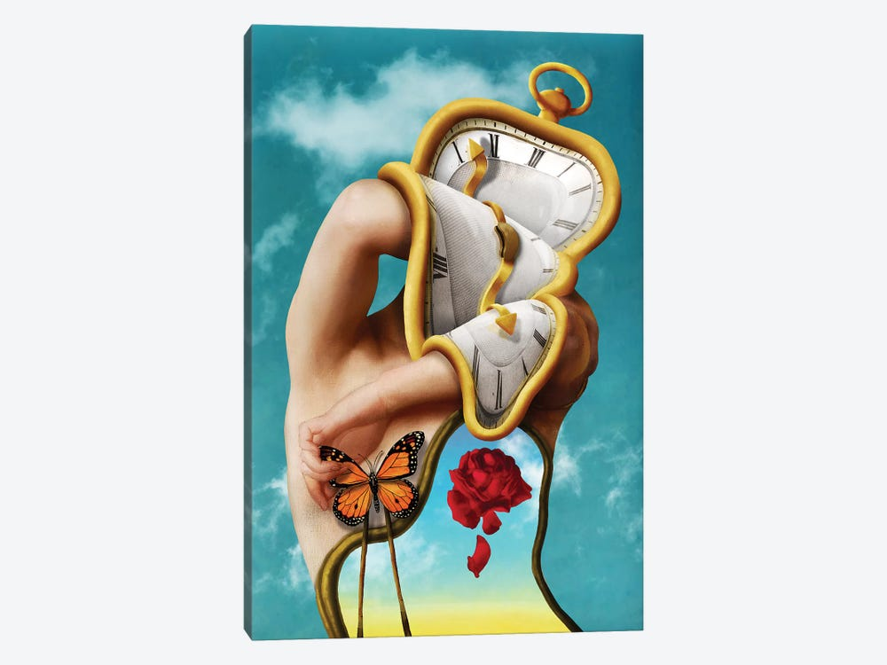 The Persistence Of Time by Diogo Verissimo 1-piece Canvas Wall Art