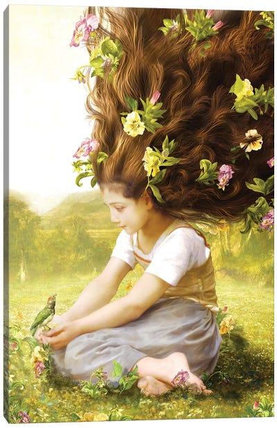 Bird of Hope Canvas Art Print