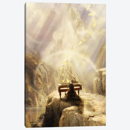 Divine Concert Canvas Print #DVE94} by Diogo Verissimo Canvas Art Print