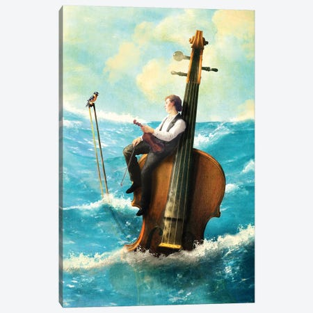 Drifting Melody Canvas Print #DVE95} by Diogo Verissimo Canvas Print