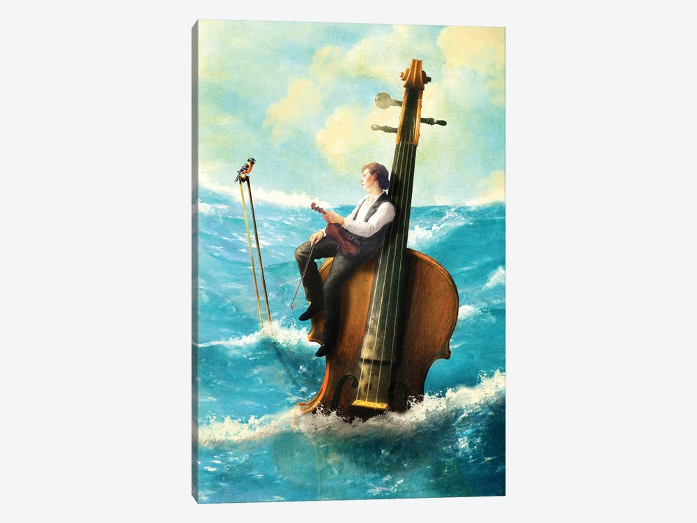 Drifting Melody by Diogo Verissimo 1-piece Canvas Art Print