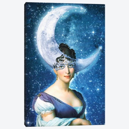 Moonlight Masquerade Canvas Print #DVE98} by Diogo Verissimo Canvas Art