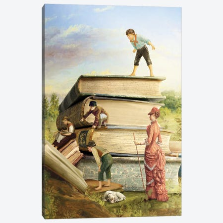 School Day Canvas Print #DVE99} by Diogo Verissimo Canvas Art