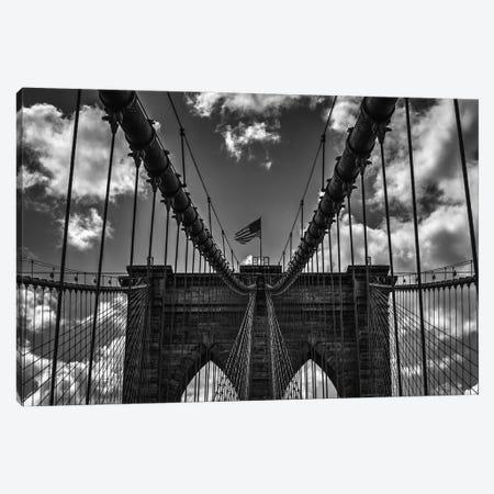 Bridge Symmetry 3-Piece Canvas #DVG100} by David Gardiner Canvas Art Print