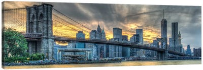 Brooklyn Sunset Canvas Art Print
