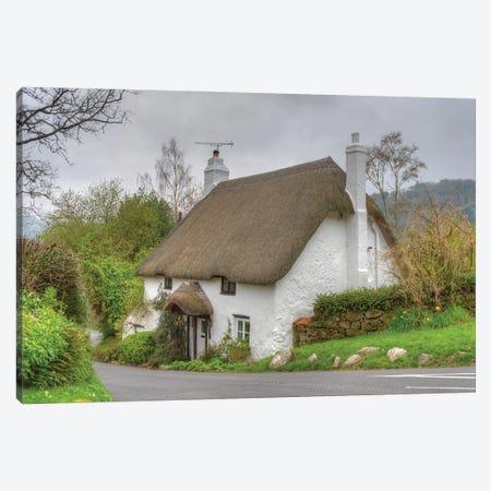 Devon Cottage Canvas Print #DVG112} by David Gardiner Canvas Art