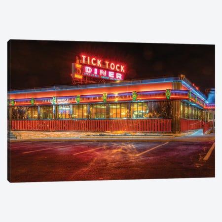 Diner Canvas Print #DVG113} by David Gardiner Canvas Wall Art