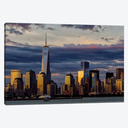 Downtown Morn Canvas Print #DVG114} by David Gardiner Canvas Art Print