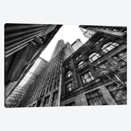 Fire Escape Canvas Print #DVG118} by David Gardiner Canvas Art