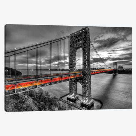 GW Streak Canvas Print #DVG125} by David Gardiner Canvas Wall Art