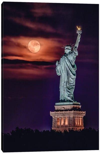 Liberty Moonrise Canvas Art Print