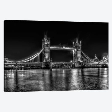 London in Black & White Canvas Print #DVG135} by David Gardiner Canvas Print