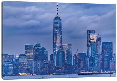 Lower Manhattan Canvas Art Print