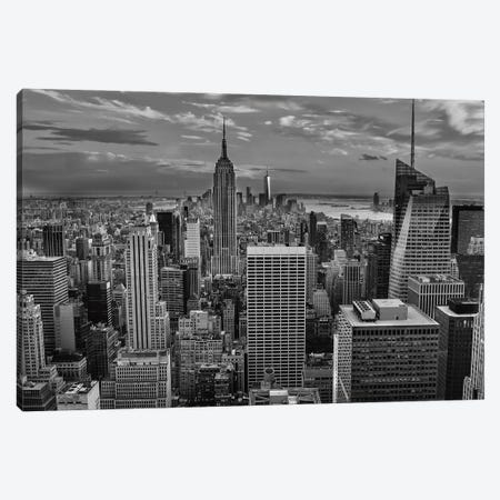 NYC Sky View 3-Piece Canvas #DVG146} by David Gardiner Canvas Art