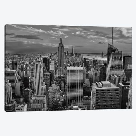 NYC Sky View Canvas Print #DVG146} by David Gardiner Canvas Art