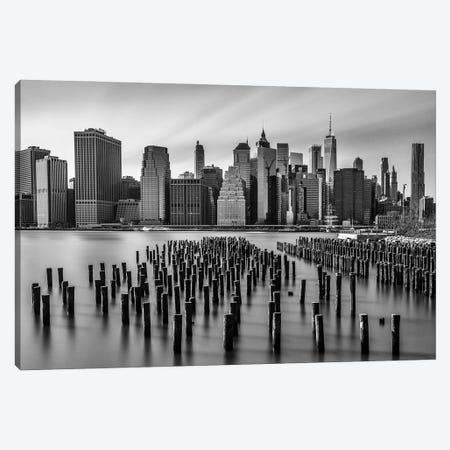 Pylons Canvas Print #DVG157} by David Gardiner Canvas Print