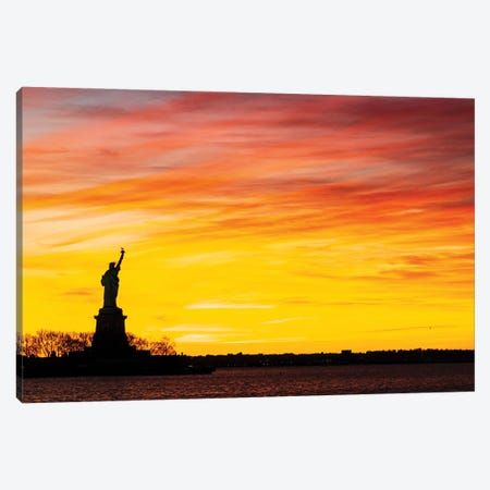 Sunset Welcome Canvas Print #DVG168} by David Gardiner Canvas Art Print