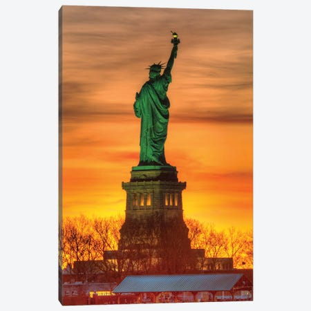 Welcome In Canvas Print #DVG177} by David Gardiner Canvas Print