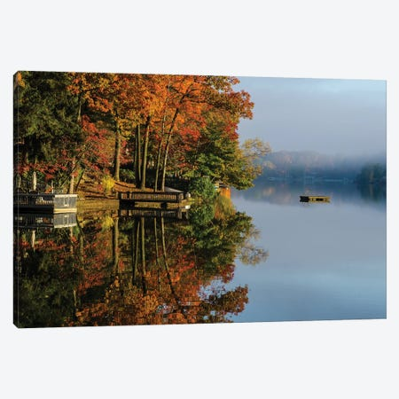 Cupsaw Morning Canvas Print #DVG220} by David Gardiner Canvas Artwork