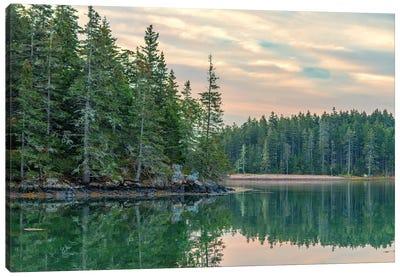Maine Calm Canvas Art Print
