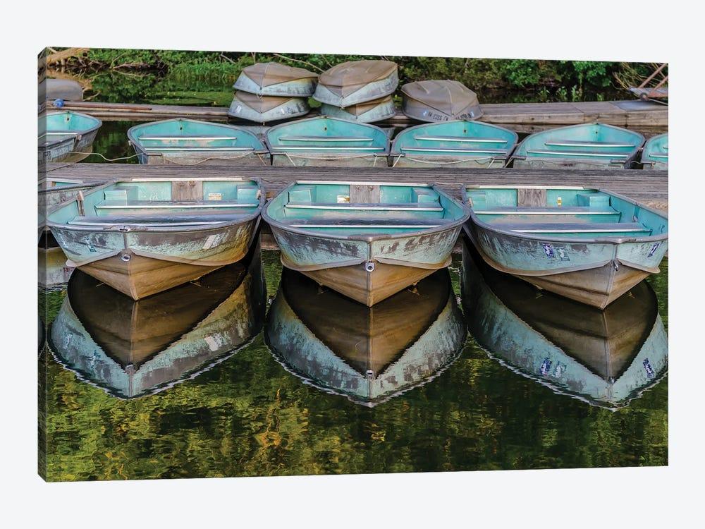Reflected Boats by David Gardiner 1-piece Canvas Wall Art