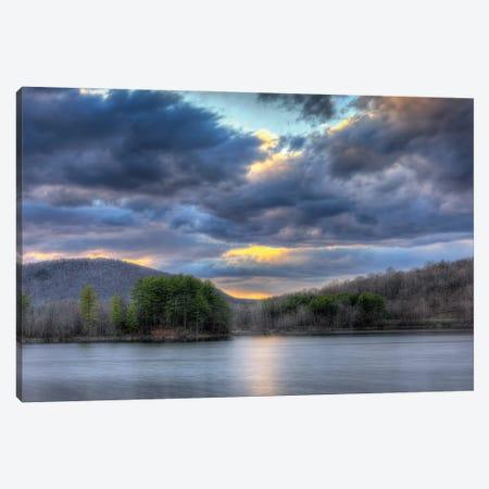 Ringwood Sunset Canvas Print #DVG265} by David Gardiner Art Print