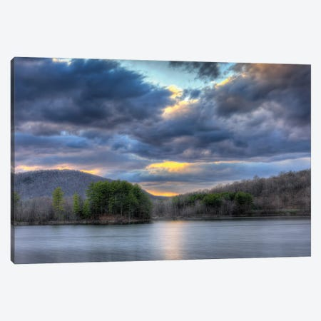 Ringwood Sunset 3-Piece Canvas #DVG265} by David Gardiner Art Print