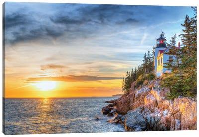 Acadia Sunset Canvas Art Print