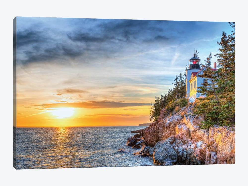 Acadia Sunset by David Gardiner 1-piece Canvas Artwork