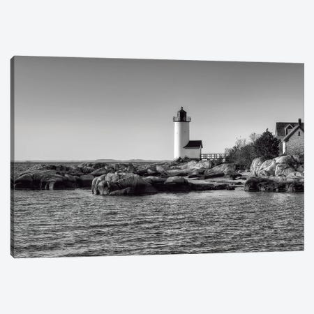 Annisquam B&W Canvas Print #DVG291} by David Gardiner Canvas Print