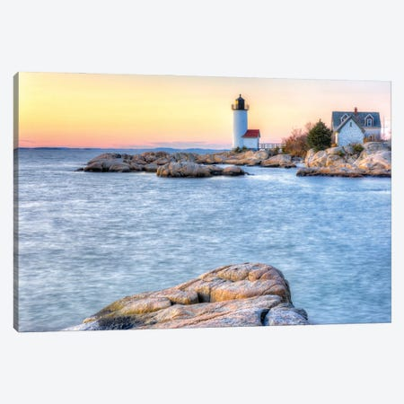 Annisquam Sunset Canvas Print #DVG293} by David Gardiner Art Print